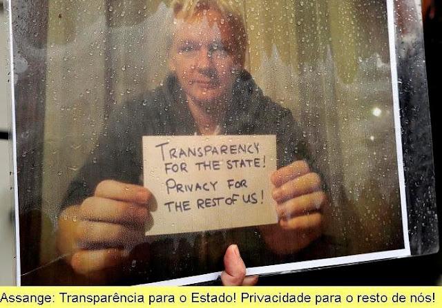 O curioso caso do silêncio da esquerda sobre Julian Assange