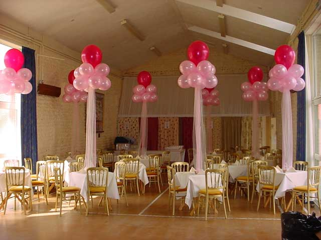 Red And Gold Wedding Reception Decoration