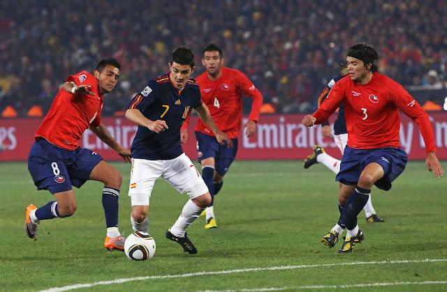 Chile y España en Copa del Mundo Sudáfrica 2010, 25 de junio