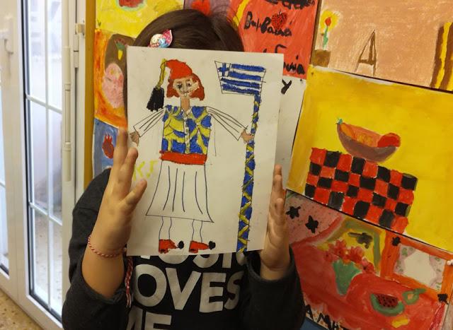 Παιδικό Εργαστήρι Τέχνης στο Παράρτημα της Εθνικής Πινακοθήκης στο Ναύπλιο