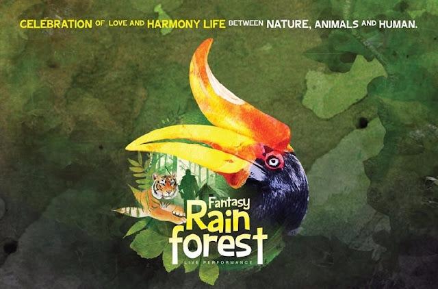 TEATER MUZIKAL FANTASY RAIN FOREST