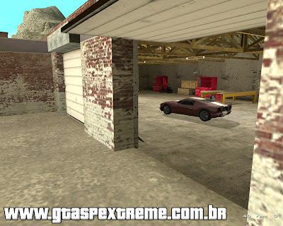 Garagens de Missões Abertas para GTA San Andreas