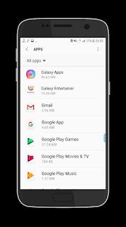 Contoh Aplikasi Bawaan