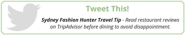 Sydney Fashion Hunter: Tweet This!