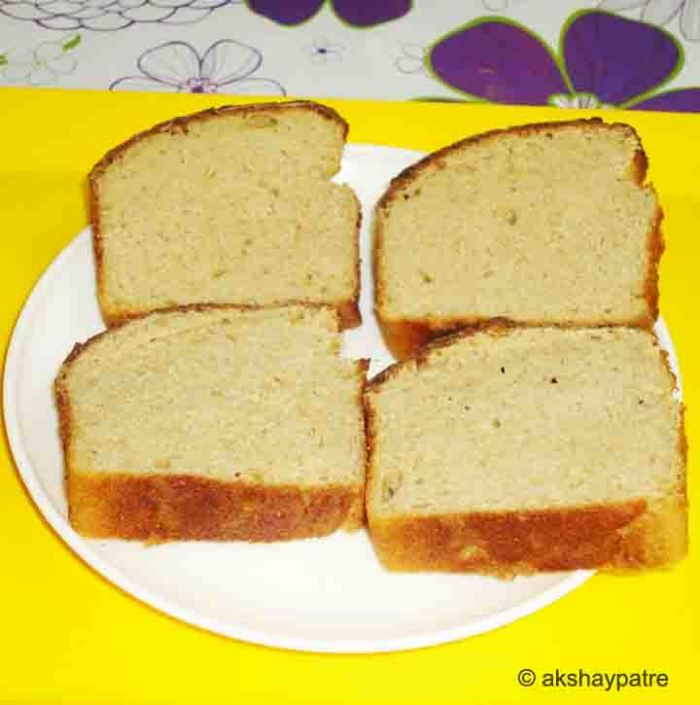 Whole wheat honey bread is ready to serve