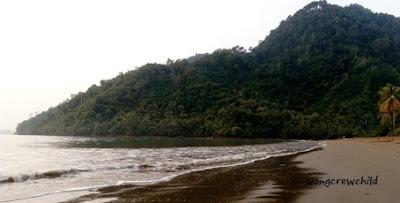 jalur jalan ke pantai cengkrong trenggalek