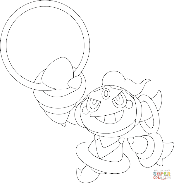 Hoopa Pokemon Coloring Page Free Printable Coloring Pages Inside Incredible Pokemon  Coloring Pages Black And White