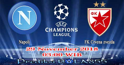 Prediksi Bola855 Napoli vs FK Crvena zvezda 29 November 2018