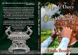 Book cover: My Mr Darcy and Your Mr Bingley by Linda Beutler