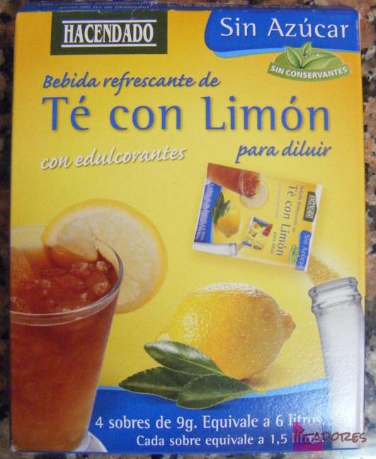 te con limon mercadona para adelgazar