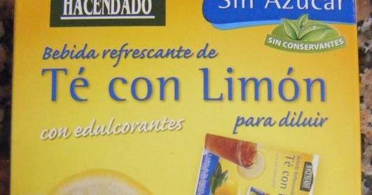 te al limon mercadona
