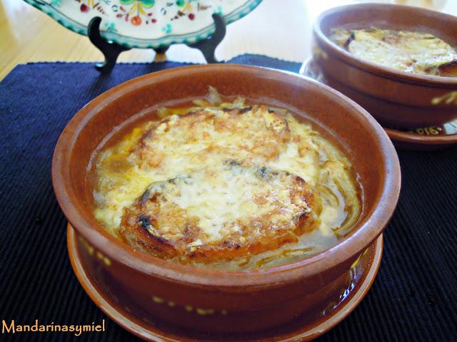 Sopa De Cebolla Al Microondas