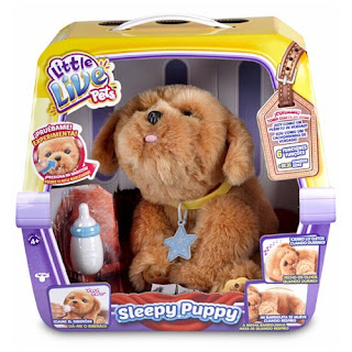 TOYS : JUGUETES - LITTLE LIVE PETS Sleepy Puppy : Perro Mascota | Peluche Interactivo Producto Oficial 2016 | Famosa 700013210  A partir de 4 años | Comprar en Amazon España