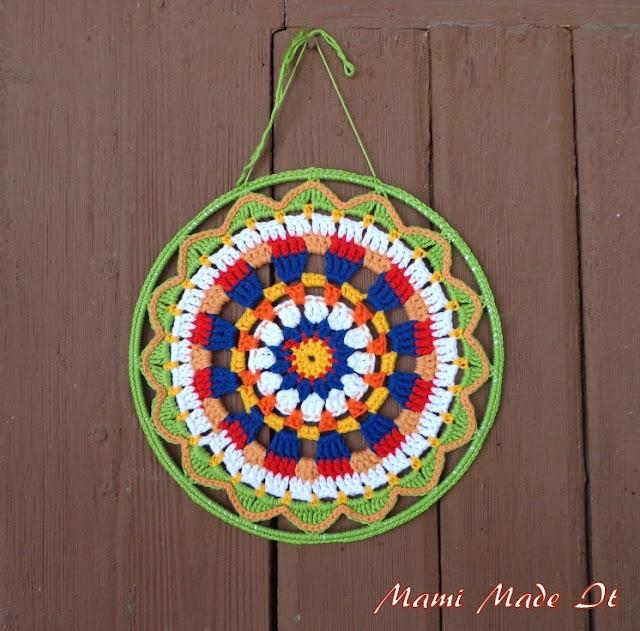 Häkelmandala - Crochet Mandala