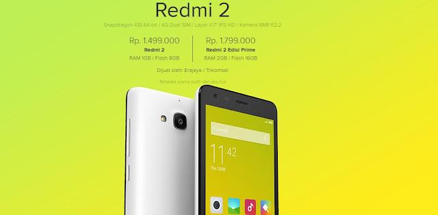 Mengenal HP Xiaomi Redmi 2