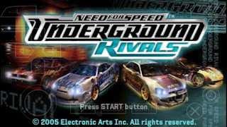 Game Need For Speed Underground Rivals ISO PPSSPP Download