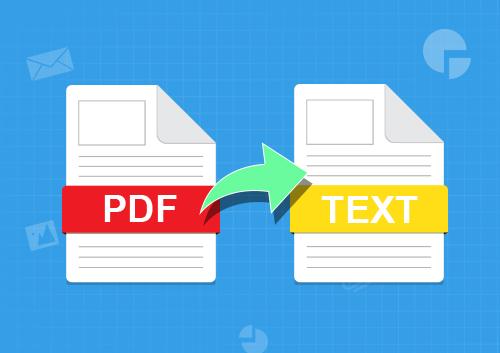 تحويل ملفات PDF الى Text بدون برامج