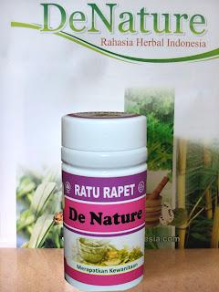 Image Kapsul obat gatal gatal pada vagina-Obat herbal De Nature