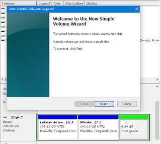 HOW A CREATE A NEW PARTITION ON WINDOWS WITHOUT LOOSING ANY FILE 4