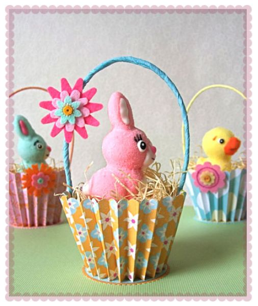 Easter basket decoration ideas elitflat marketing online for your success diy easter gifts diy negle Images