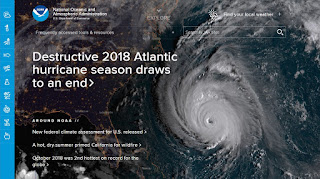 Hurricane season 2018 ends