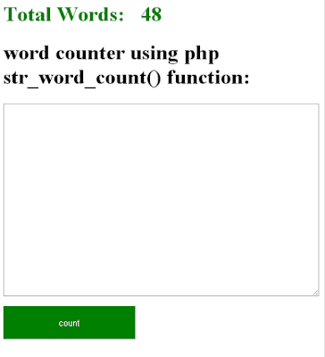 word-counter-using-php