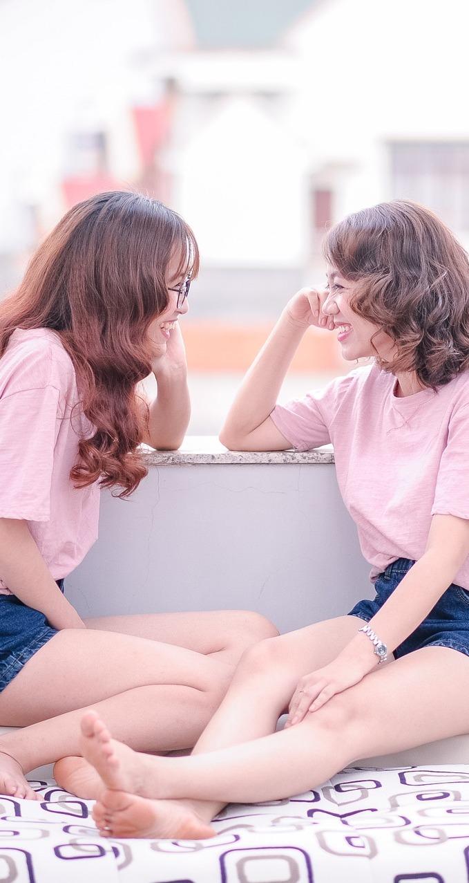 Girl gossip.