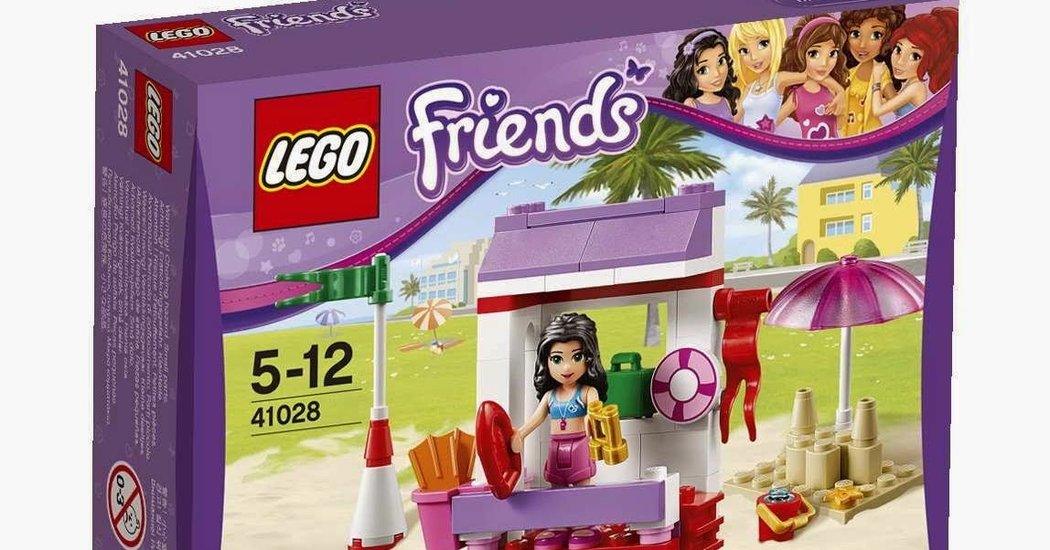 Lifeguard Emma's 41028 Brick FriendsLego Post AjL54R3
