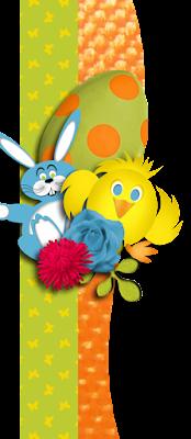 Bunny Hop CT Freebie Border #3