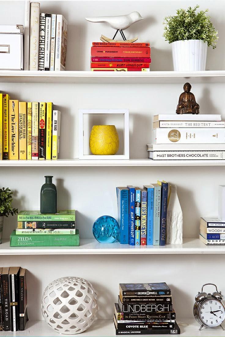 Como organizar seus livros pessoais