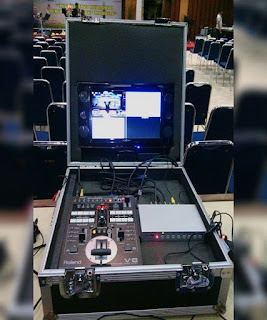 Persewaan Video Mixer Edirol V8 - Switcher Video Rolland V8 Jakarta