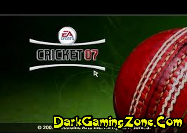 Ea Cricket 2007 Game Direct Link Free Download Full