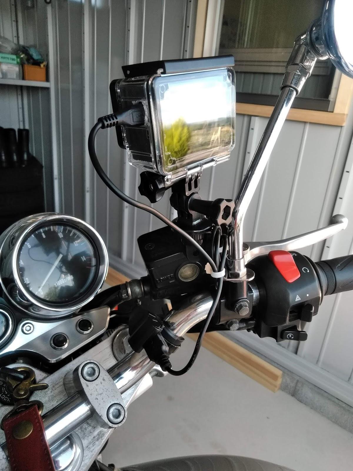 イナズマ400に中国製アクションカメラ・apeman A80を取り付けして ...
