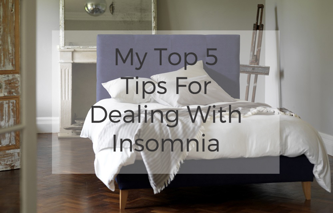 Top 5 tips to deal with insomnia http://www.archieandtherug.com/
