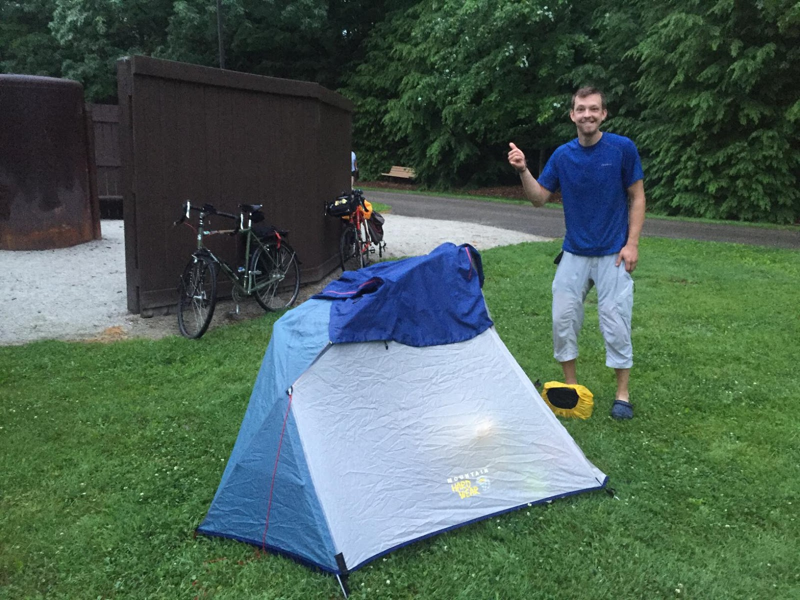 ... on the Great Divide Mountain Bike Route next month had a lightweight bivvy sack and tarp setup instead of a tent which he carried on his Salsa Fargo. & Century Cycles Blog: Trip Report: Bike Camp-Out Night Ride on the ...