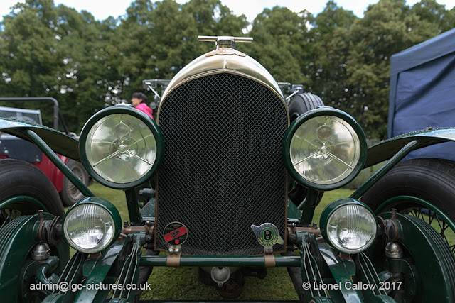 The front face of the Bentley TD 6059