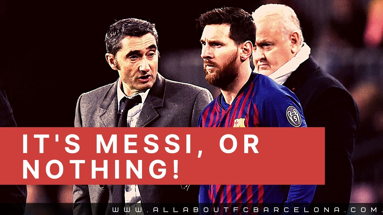 With Valverde in Charge, Barcelona's Hopes all will Depend on Lionel Messi!