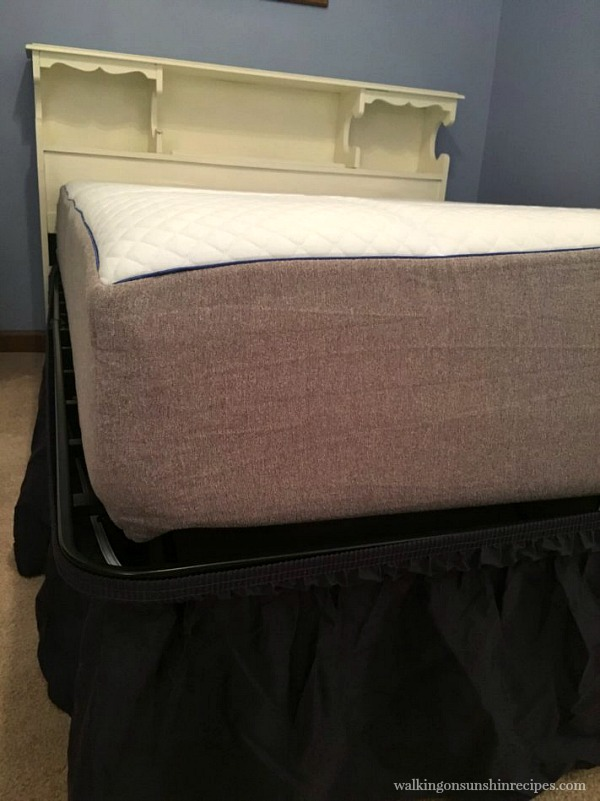 closeup of nectar mattress from walking on sunshine recipes
