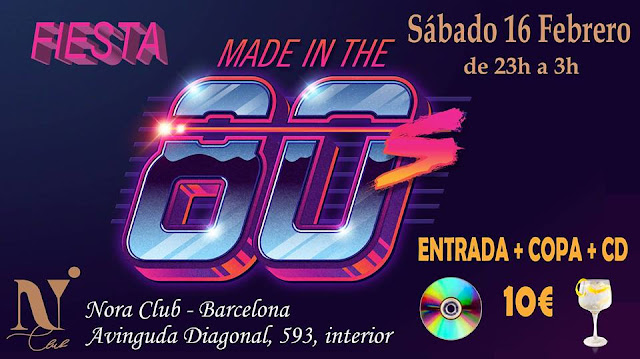 Flyer Fiesta Made In The 80s