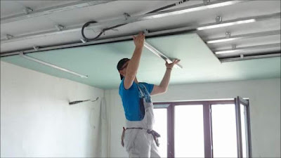 How to build a floating ceiling, floating ceiling panels and designs, floating ceiling installation