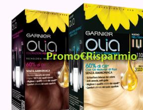 Logo Garnier : diventa tester Olia con Opinion Model