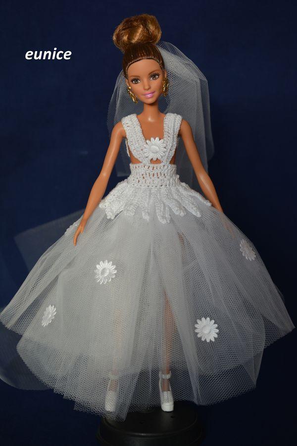 Kreacje Dla Barbie ślubna