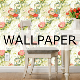 Print on demand wallpaper designs by Mimi Pinto