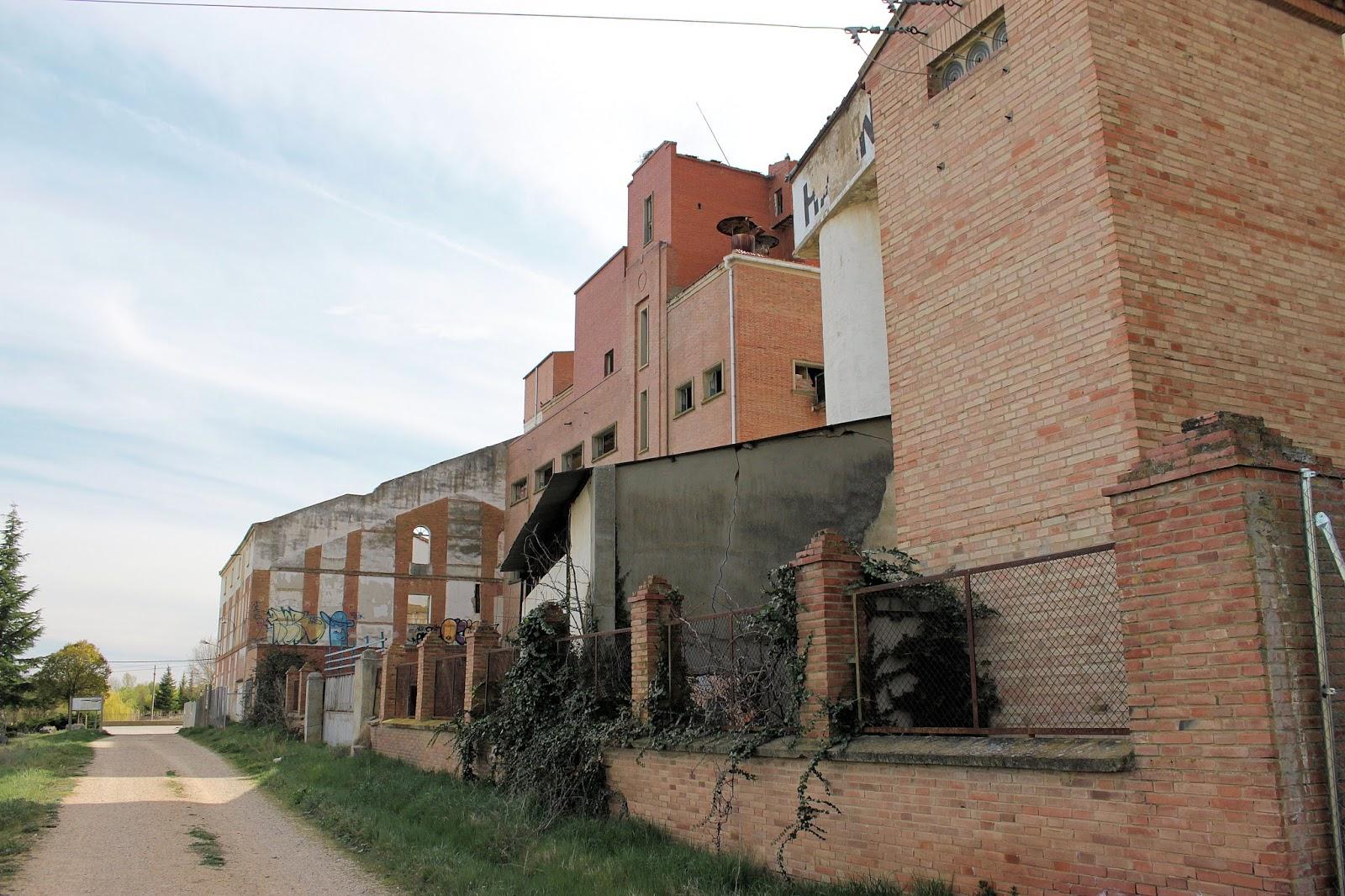 Fabrica de harinas Villamuriel