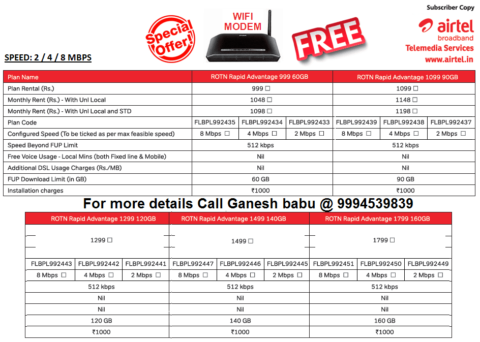 Free airtel recharge coupons number