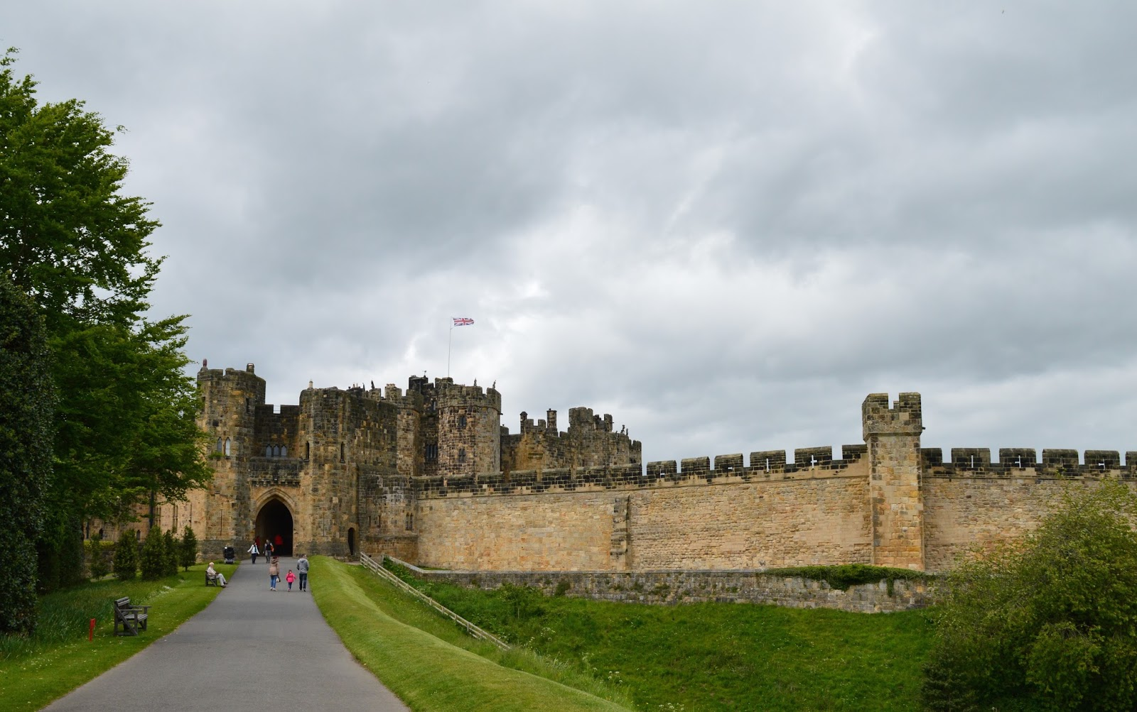 Alnwick Castle | Harry Potter Broomstick Training | Castle Exterior