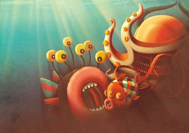 Inspire-se com as incríveis ilustrações de Juan Carlos Paz