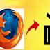 اخفاء لائحة المواقع التي سبق وزرتها من شريط مهام متصفح فايرفوكس