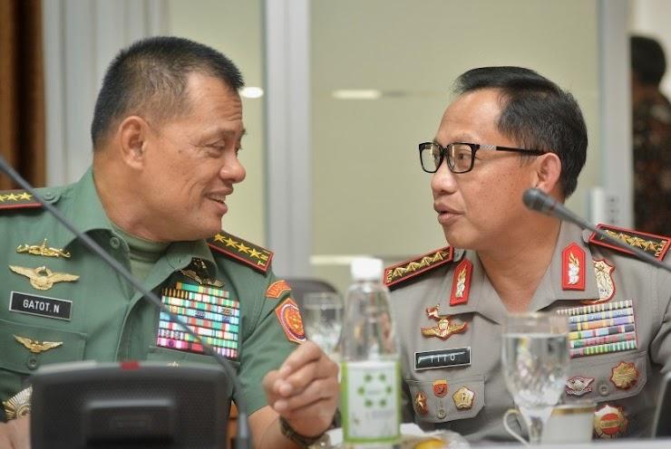 Jenderal Gatot: Ada yang Mengadu dan Mengacak-acak TNI dan Polri