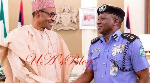 Buhari, IGP meet in Aso Rock